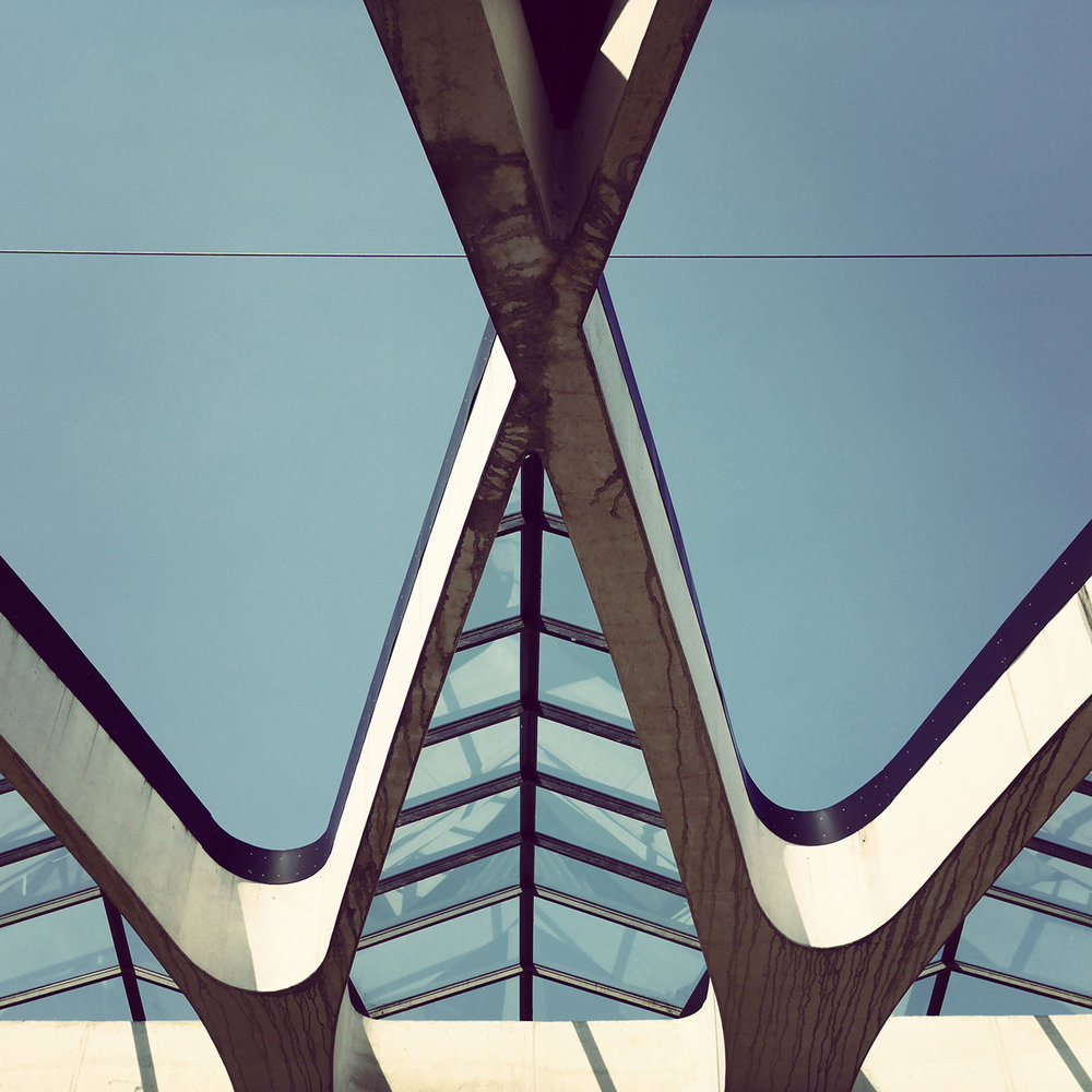 Gare de Lyon Saint-Exupéry <br />Location: Lyon, France <br />Architect: Santiago Calatrava