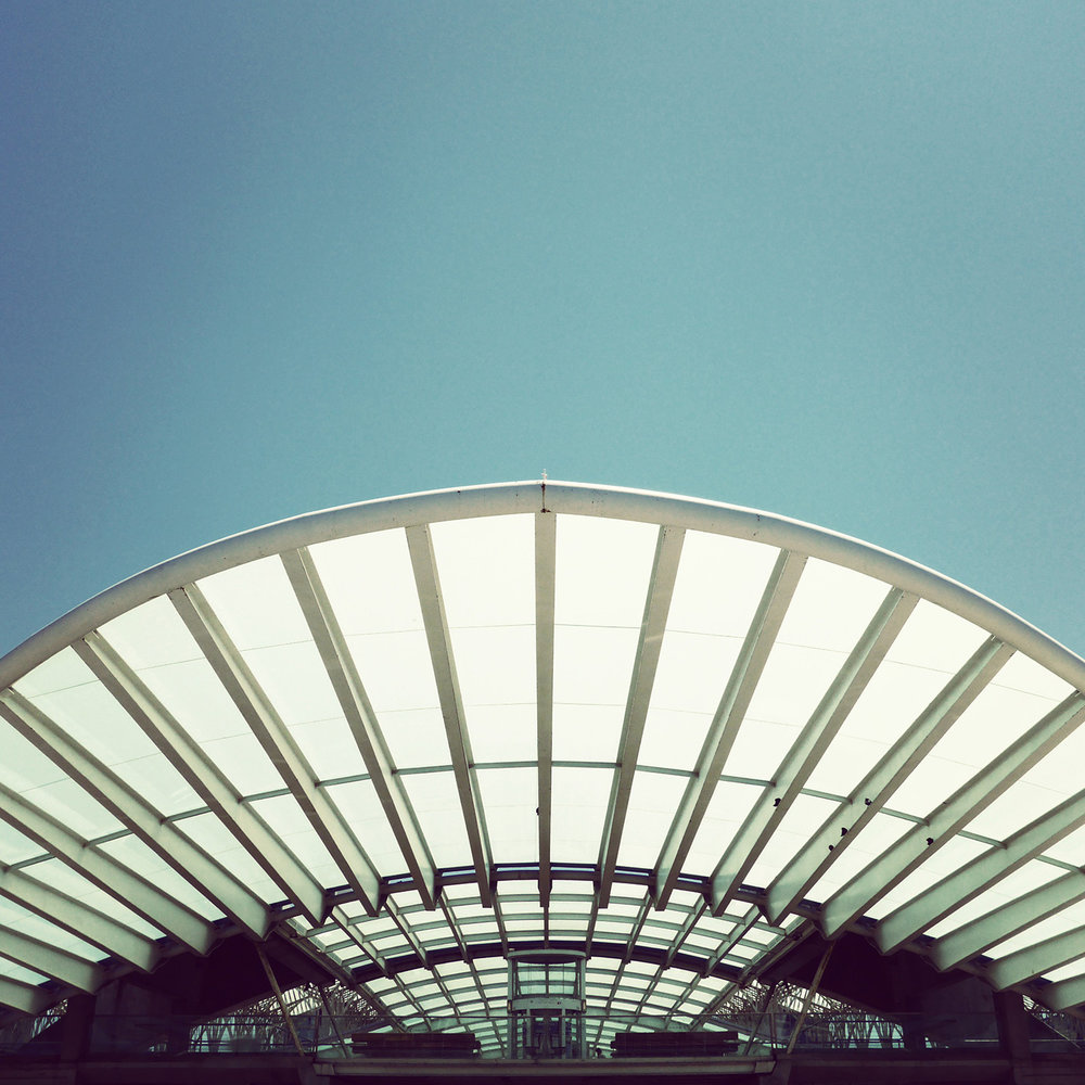 Estação do Oriente <br />Location: Lisbon, Portugal <br />Architect: Santiago Calatrava