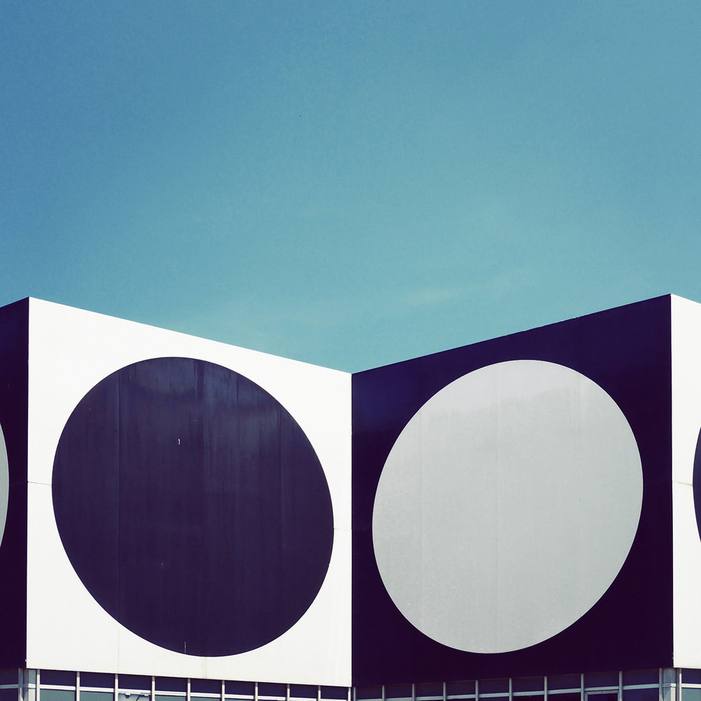 Fondation Vasarely <br />Location: Aix en Provence, France <br />Architects: John Sonnier, Dominique Ronsseray