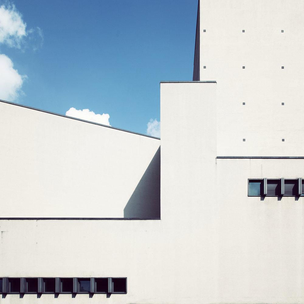 Teatro degli Arcimboldi <br />Location: Milan, Italy <br />Architects: Vittorio Gregotti, Mario Botta and Elisabetta Fabbri