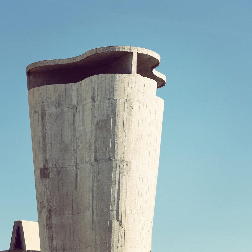 Cité Radieuse <br />Location: Marseille, France <br />Architect: Le Corbusier