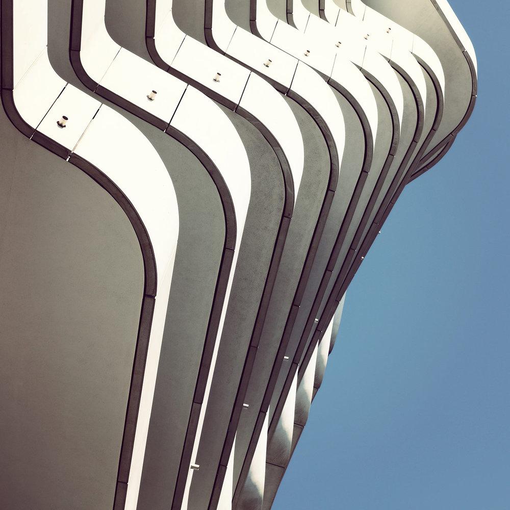 Marco Polo Building <br />Location: Hamburg, Germany <br />Architect: Behnisch Architekten