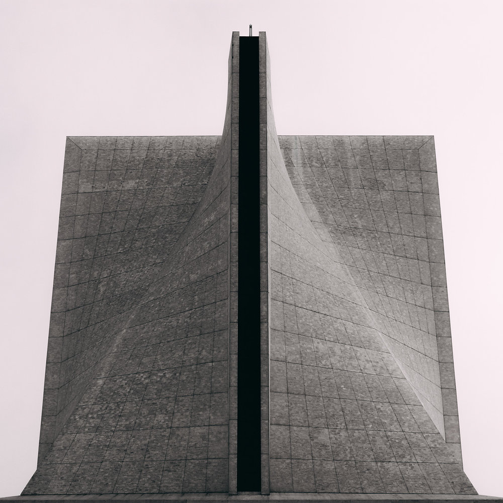 Copy of Saint Mary's Cathedral of the Assumption <br />Location: San Francisco, USA <br />Architects: Pietro Belluschi and Pier-Luigi Nervi