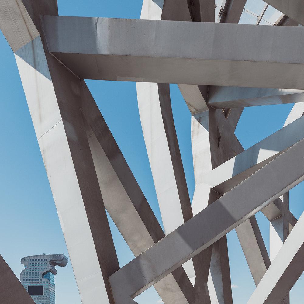 Beijing National Stadium aka Bird's Nest . Location: Beijing, China .  Architect: Herzog & de Meuron, ArupSport, China Architectural Design & Research Group, Ai Weiwei