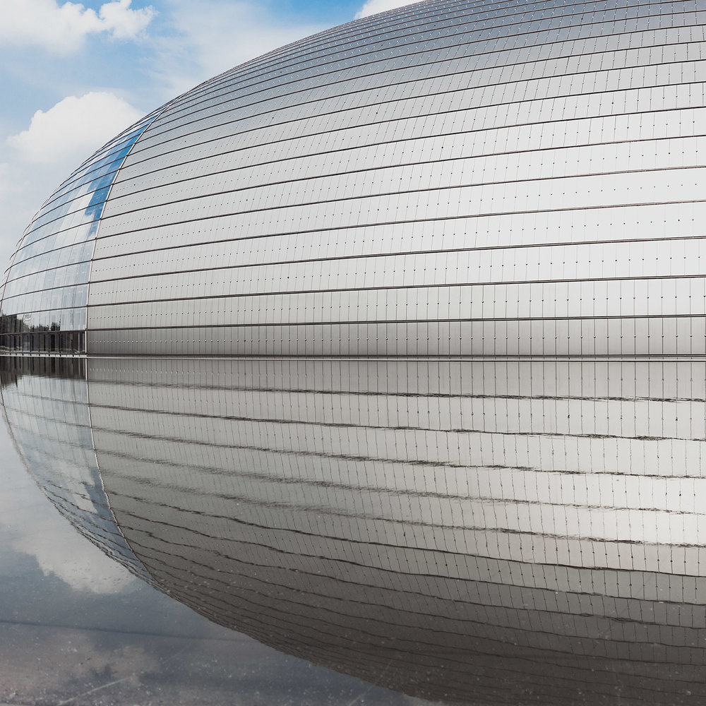 National Centre for the Performing Arts . Location: Beijing, China . Architect: Paul Andreu