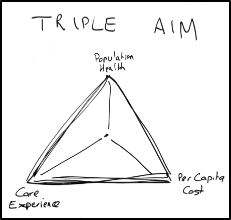 The IHI Triple Aim focuses on better care, helping HCPs deliver better health for populations and reducing cost for payers. Health startups need to consider all aspects to ensure they fit in with health systems .