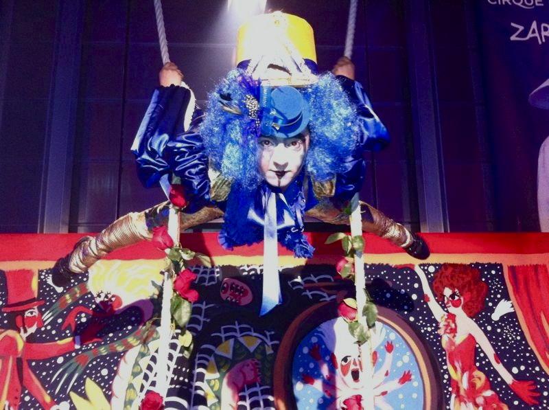 AcroEvents Cirque du soleil Cabaret y Circo Marta Gutierrez
