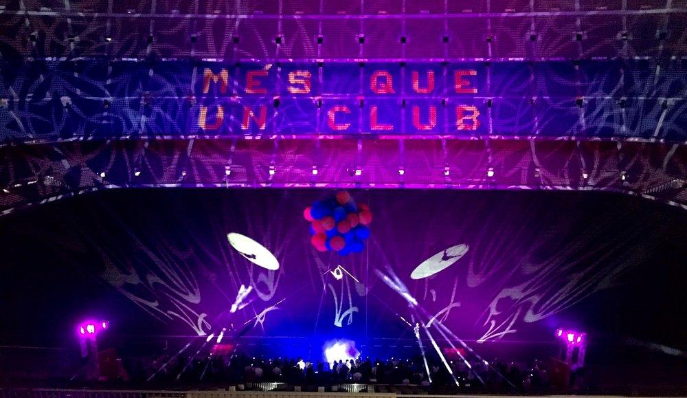 AcroEvents Helium Fantasy Barcelona Fútbol Club Marta Gutierrez