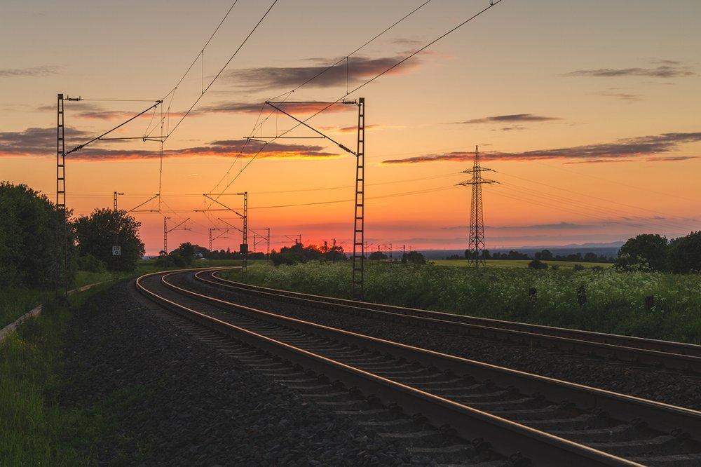 Railway Track Sunset.jpg