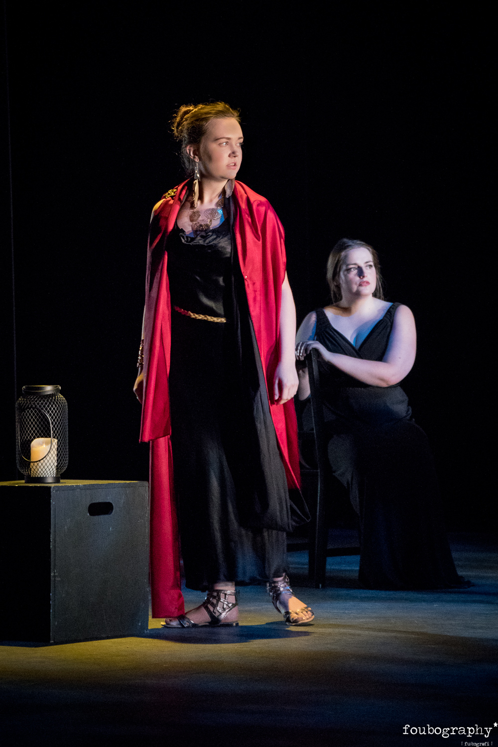 Phoebe Watts & Monica Toll in  The Rape of Lucretia  (OS)  @Royal Nortern College of Music - Opera Photography - 2018_