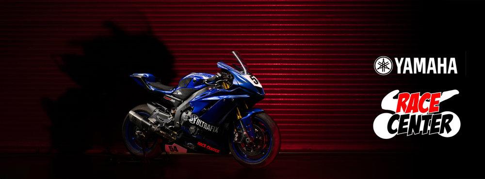 Yamaha R6 Race Bike photoshoot
