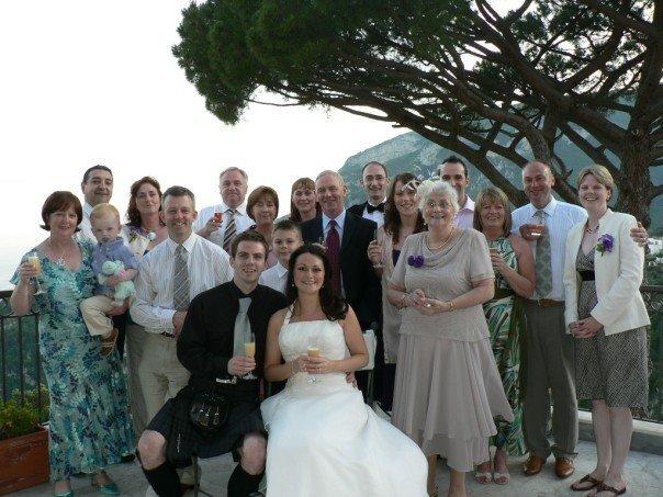 Our Wedding Day - Ravello Italy