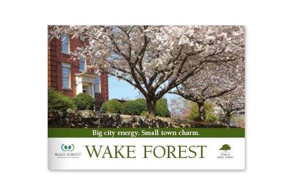 Wake Forest, NC: Big City Energy, Small Town Charm.