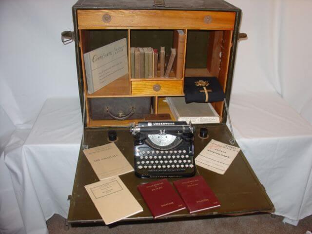 Chaplain's Field Desk