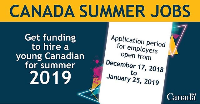 "A great opportunity for employers to boost their productivity this summer and provide valuable opportunities to youth in our community. Check it out! ""The application period for the Canada Summer Jobs (CSJ) program is still open. We want to help employers like you hire youth and create valuable summer job opportunities that strengthen our local economy and our community.  The application deadline is January 25, 2019. Please submit your application by clicking here (https://srv212.services.gc.ca/ihst/Questionnaire.aspx?sid=634b81f9-9e61-4847-a459-41943babdffe&lc=eng&iffsappid=EEC-CSJ&iffssid=025a5751-4cfc-4985-abd6-7e69c4ce0929). Please note that you are still encouraged to register with ESDC's Grants and Contributions Online Services (GCOS). GCOS provides additional functionalities that allow you to apply and track your application status, sign agreements, manage active projects, submit supporting documents, and review past projects submitted through GCOS. It is a one-time process, which may take a few weeks to complete.  However, given the CSJ application deadline of January 25, 2019, please submit your application by using the fillable application available at the link above.  If you have received a GCOS authorization code, Service Canada will follow up with you in the coming days to finalize your GCOS registration.  For more information on CSJ, including the eligibility criteria and application guide, visit Canada.ca/Canada-summer-jobs, a Service Canada Office or call 1-800-935-5555."" #commonground #commongroundcoworking #coworking #businessnl #startsomething #canadasummerjobs"