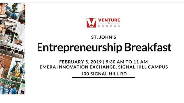 Are you interested in a FREE BREAKFAST and the chance to network with fellow NL entrepreneurs and Venture for Canada staff?  Check out this event hosted by @venture4canada and learn more about the start-up environment in St. John's.  To learn more about the Entrepreneurship Breakfast or to register, click the link below.  https://www.eventbrite.ca/e/venture-for-canada-st-johns-entrepreneurship-breakfast-tickets-55582212895?aff=Facebook . . . . . #startupnl #newfoundlandbusiness #entrepreneurship #breakfast #businessnl #startsomething #ventureforcanada #yyt