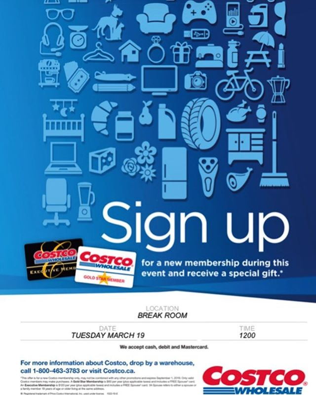 Costco is a great place to shop for supplies for your small business or start-up... And guess what?! . Costco representatives will be on site at Common Ground (30 Harvey Rd., Suite 2)TOMORROW to sign you up for a new membership! . All are welcome! . . . . . . #costco #commonground #coworking #startup #smallbusiness #yyt #stjohns #businessnl