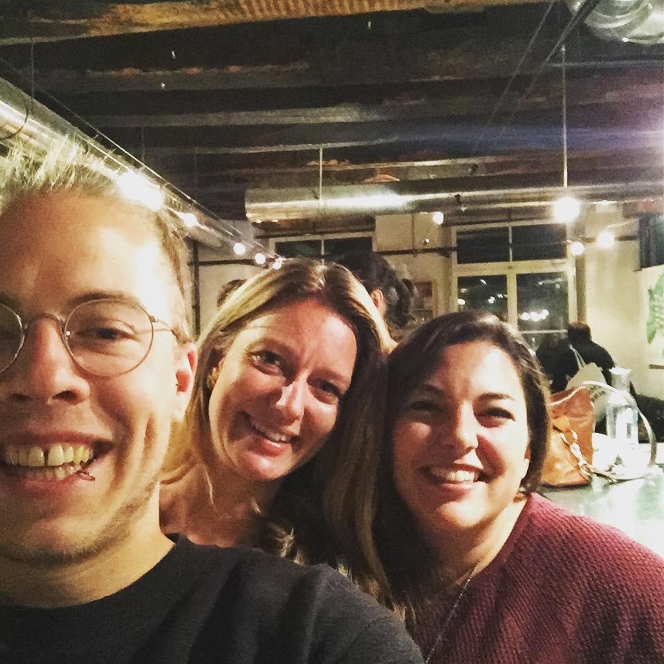 Mit Natascha Wey und Tamara Funiciello.
