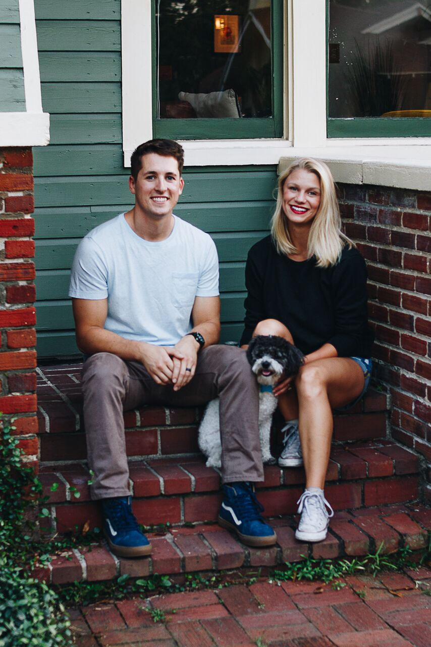 Annie- my incredible little family + our new home!