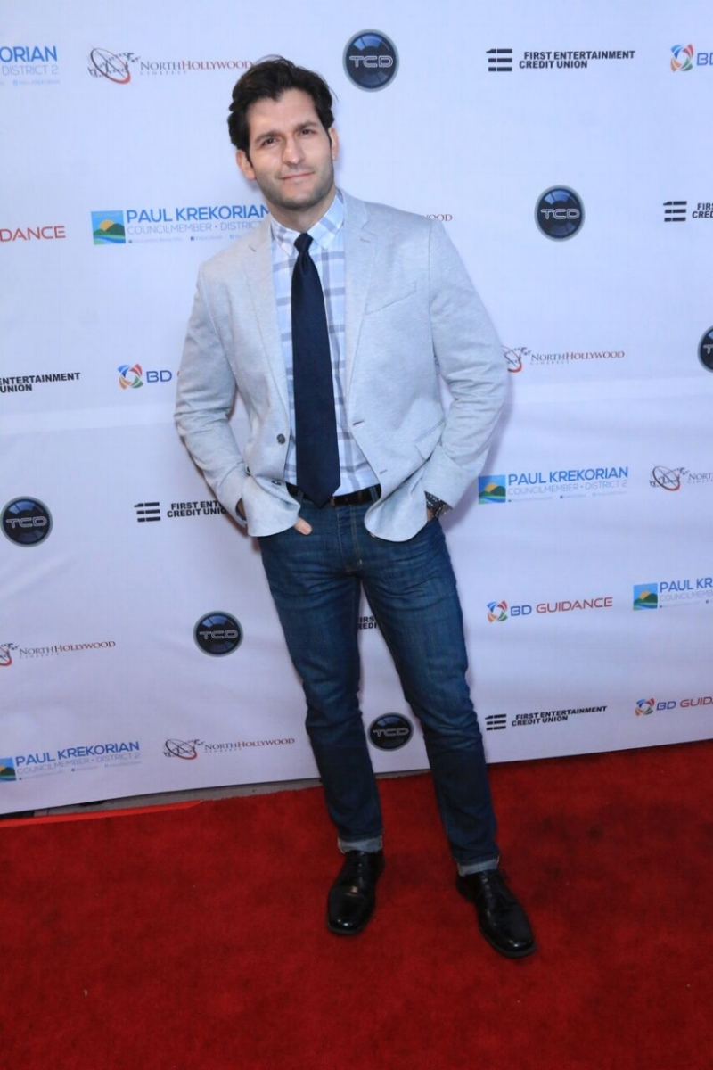 Best Actor, James (Game Master) Fuertes representing on the red carpet at The North Hollywood Cinefest.