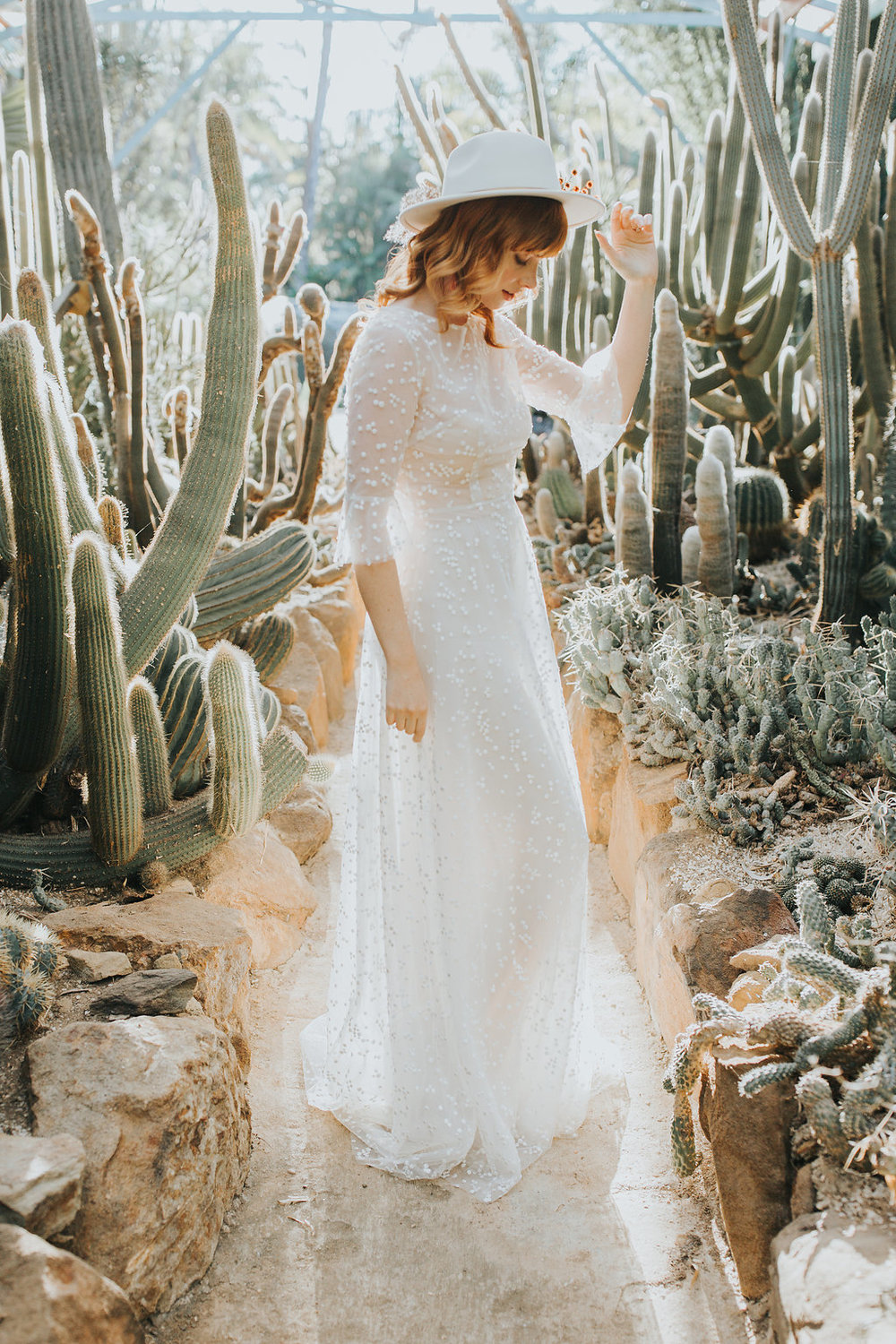 Cactus Queen Editorial 2018 - Jennifer Gifford Designs Olivia Overlay