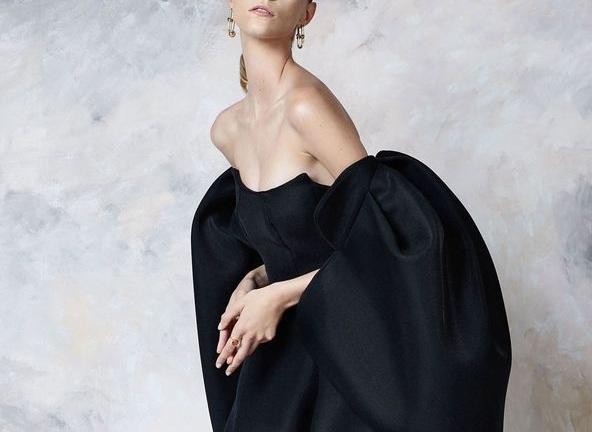 Bare Shoulders & illusion necklines -