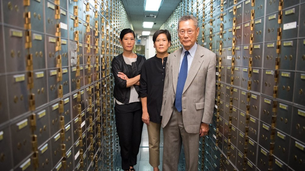 Daughters Vera and Jill Sung, patriarch and Abacus founder Thomas Sung