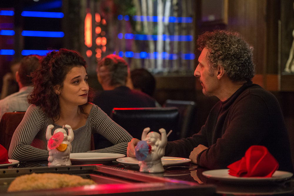 Jenny Slate and John Turturro in Landline