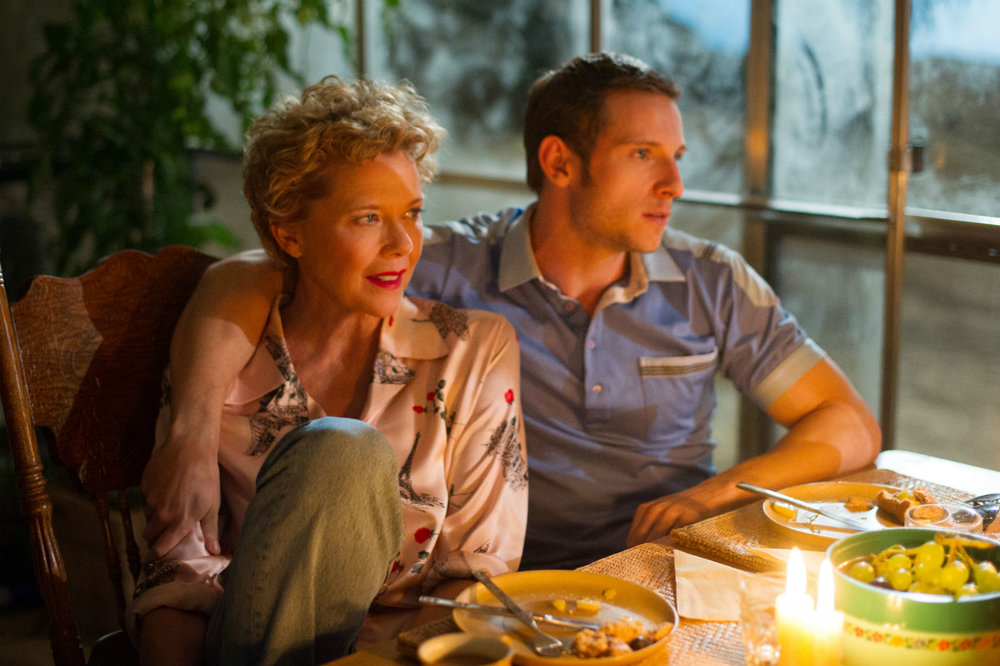 Annette Bening and Jamie Bell in the reality-based Film Stars Don't Die In Liverpool