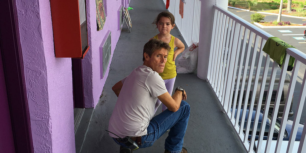 Willem Dafoe and Brooklynn Prince both soar in The Florida Project.