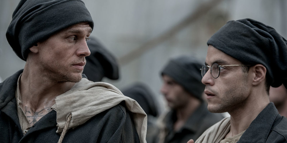 Charlie Hunnam and Rami Malek in Papillon - again!