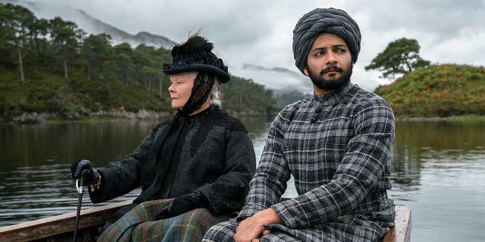 Dame Judi Dench and Ali Fazal in Victoria and Abdul.