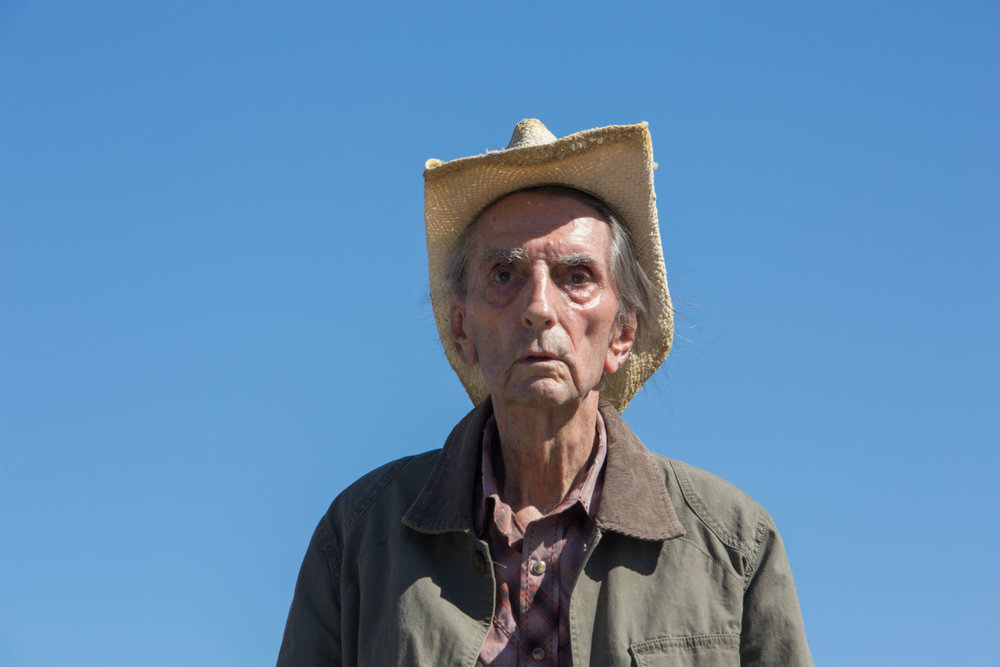 The late, great Harry Dean Stanton...