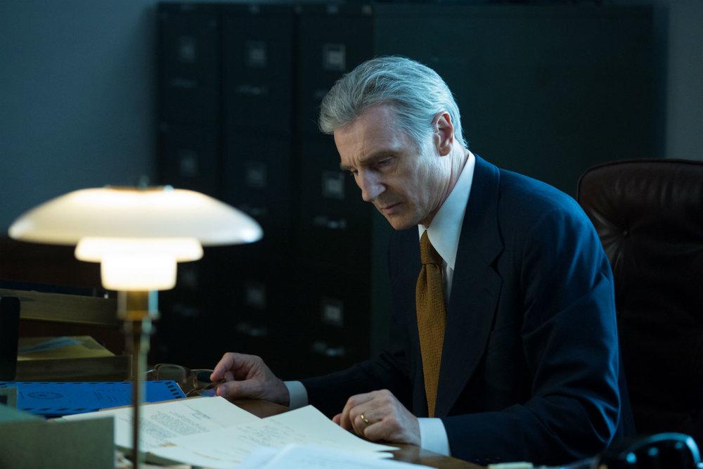 Liam Neeson as FBI G-man turned informant Mark Felt.