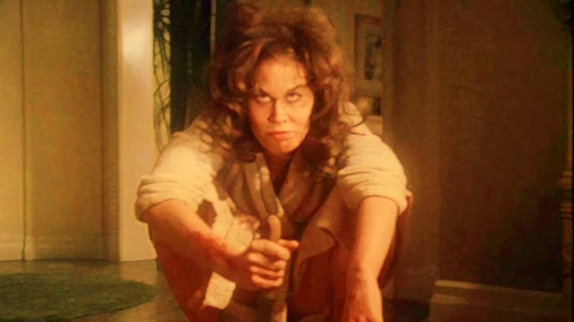 Karen Black in simpler times, when abject horror was suitable for TV. Cigarette with that?
