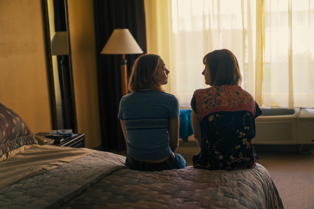 Saoirse Ronan and Laurie Metcalf: the classic mother-daughter conflict writ large.