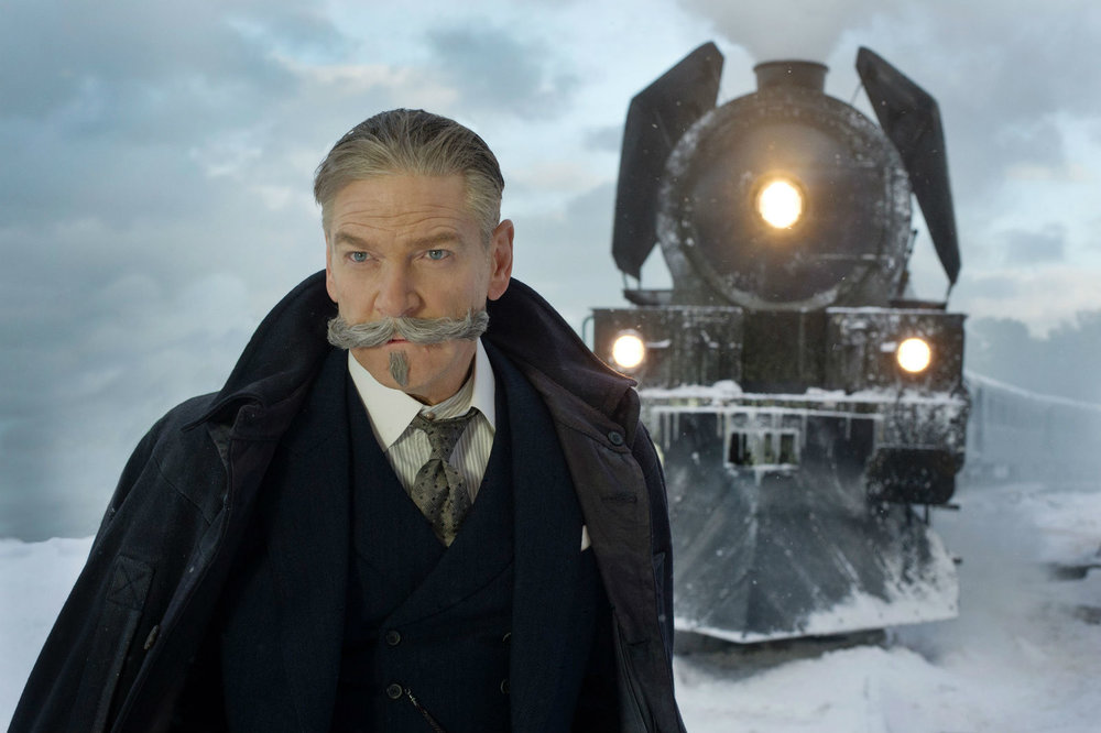 Kenneth Branagh does a Belgian proud. Facial hair enthusiasts... not so much.