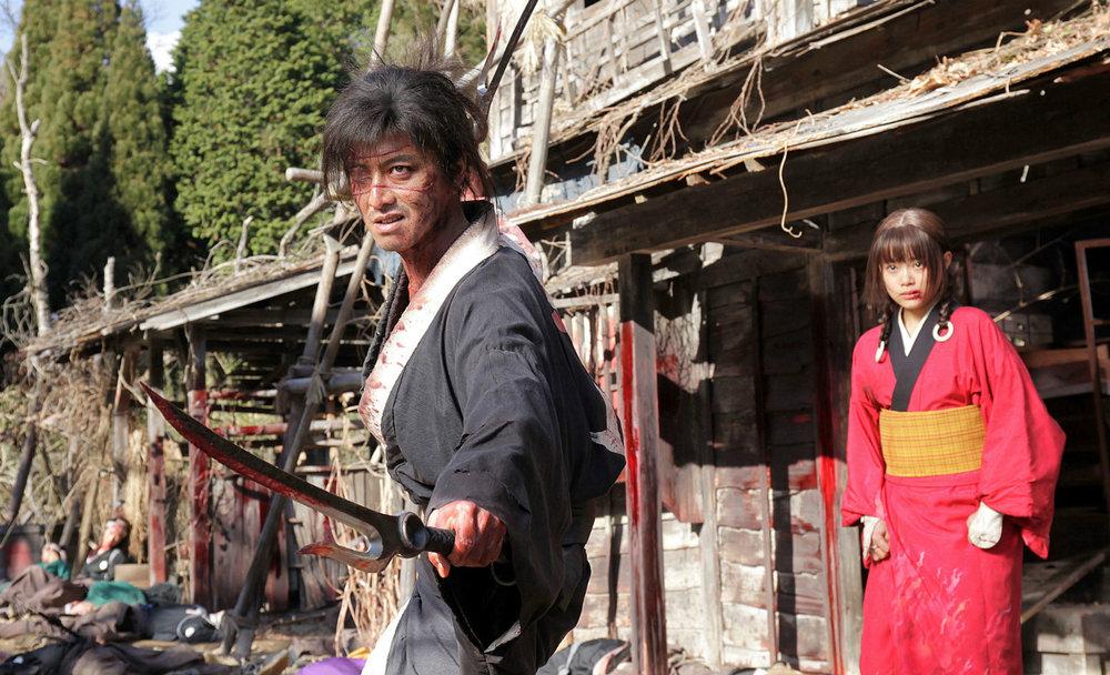 Takuya Kimura in Blade of the Immortal.