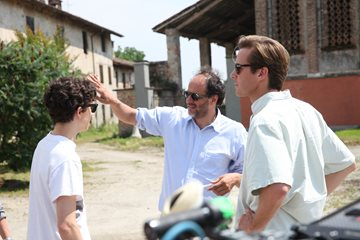Luca Guadagnino directs his leads
