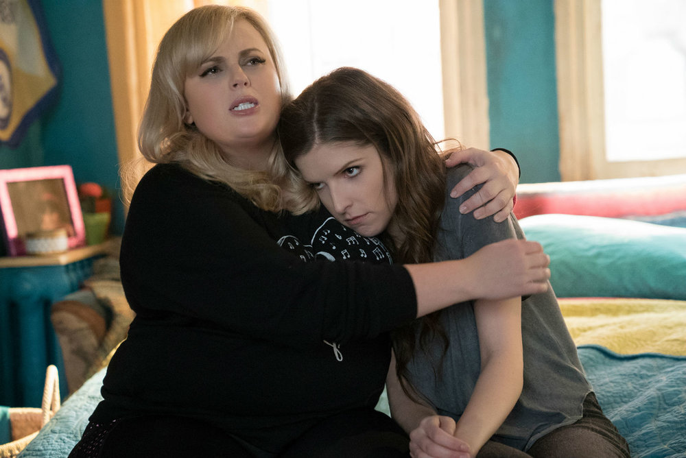 Rebel Wilson (left) with Anna Kendrick.