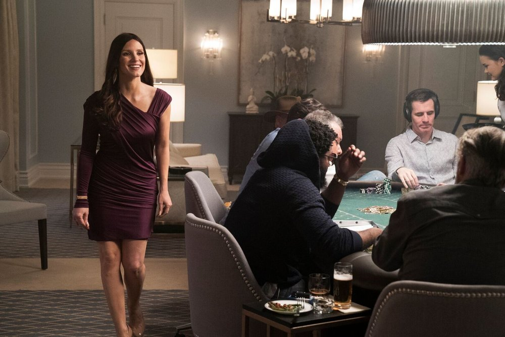 "Jessica Chastain as ""Poker Princess"" Molly Bloom in Molly's Game"