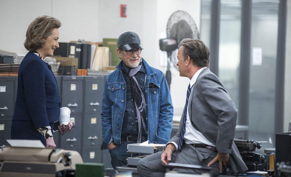 Meryl Streep, Steven Spielberg and Tom Hanks conspire against the White House