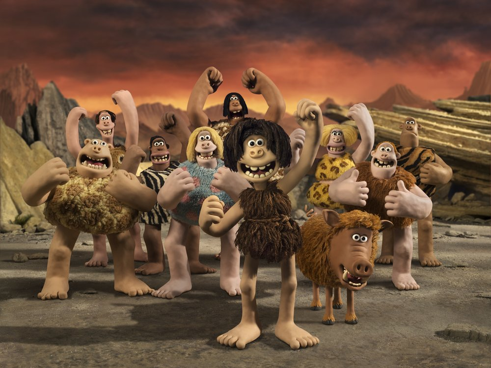 "Go Brutes! Nick Park's Early Man suggests the early hominids invented the ""beautiful game."""