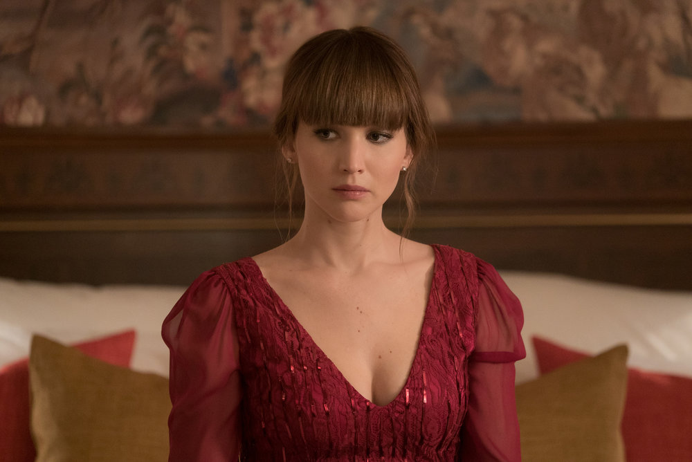 In Red Sparrow, Jennifer Lawrence is trained to use her sexuality as a weapon of espionage
