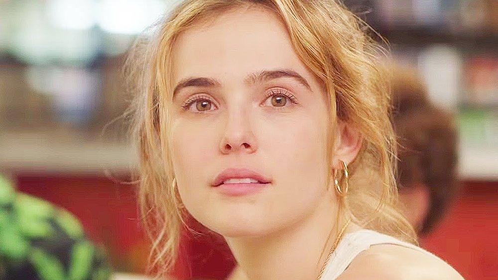 Zoey Deutch in a scene from the regrettable Flower.