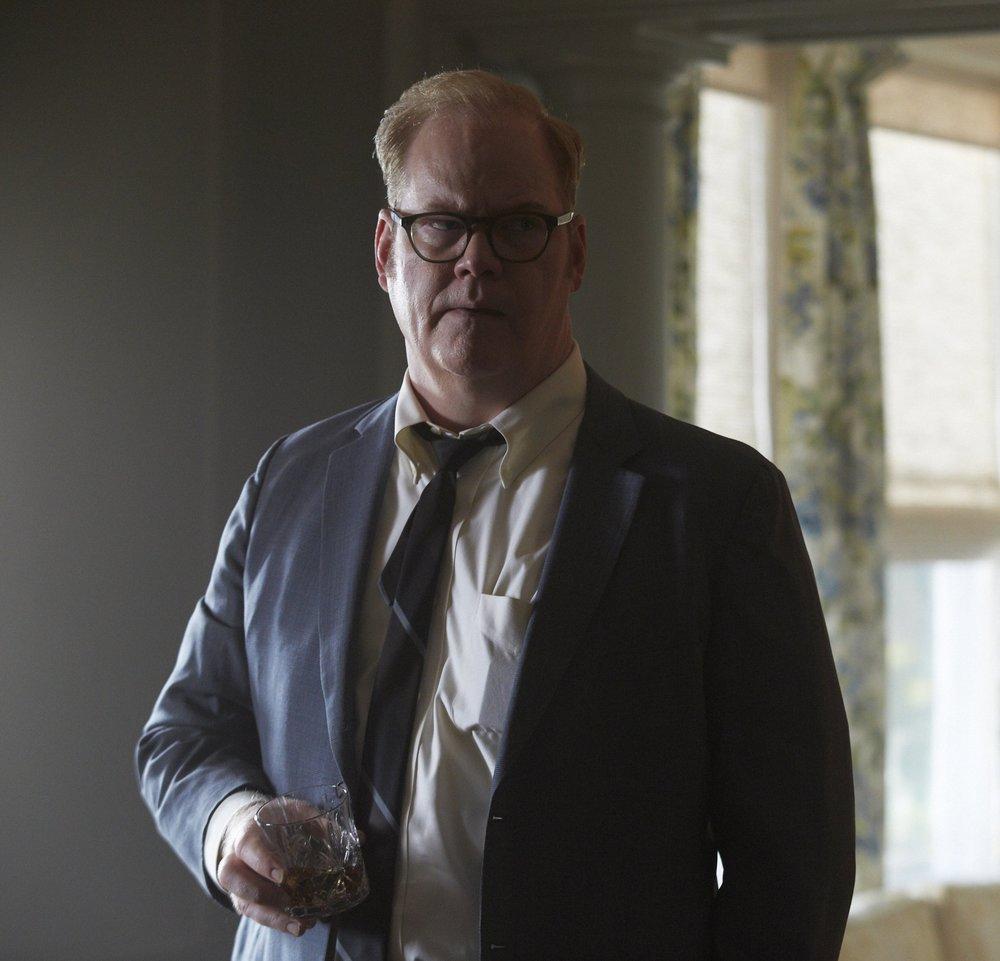 Gaffigan as Massachusetts State Attorney Paul Markham in Chappaquiddick