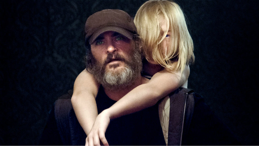 A scene from the gritty You Were Never Really Here