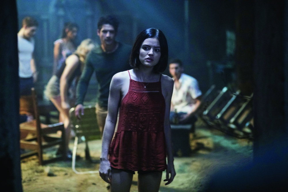 Lucy Hale asks, 'Are we scared yet?': Truth... Dare... I can never decide.