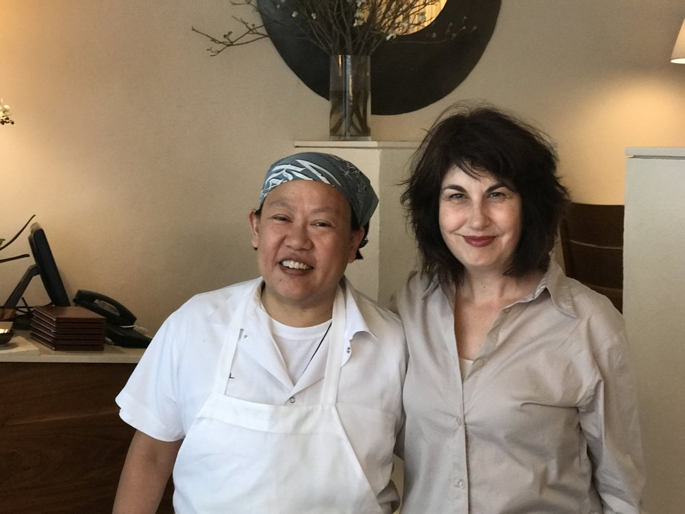 New York celebrity chef Anita Lo and The Heat director Maya Gallus