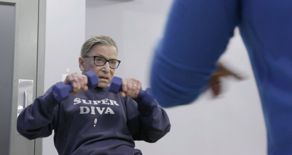 Ruth Bader Ginsburg... yeah, she's kind of awesome.
